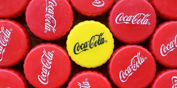 what yellow cap Coca-Cola bottles mean